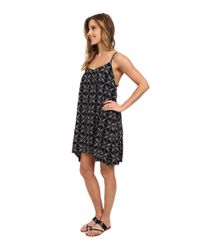 Hurley - Black Madison Cami Dress - Lyst