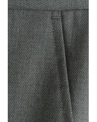 HUGO - Gray Wool Aeron/hamen Trousers - Grey for Men - Lyst