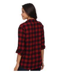 Sanctuary Red Boyfriend Shirt
