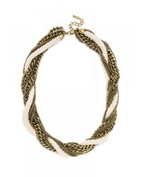BaubleBar | Metallic Cape Rope Collar | Lyst