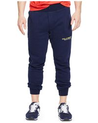 Polo Ralph Lauren   Blue Polo Sport Fleece Pants for Men   Lyst