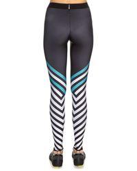 Ultracor - Black Ultra High Warren-print Leggings - Lyst