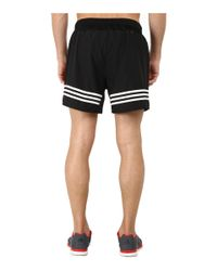 "Adidas | Black Response 5"" Shorts for Men 