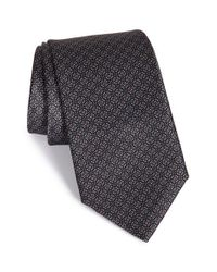 Robert Talbott Black Best Of Class Geometric Silk Tie for men