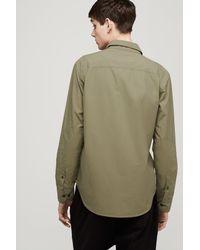Rag & Bone - Metallic Naval Shirt for Men - Lyst