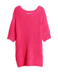 H&M Pink Knitted Top