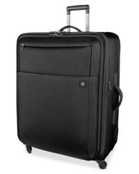 "Victorinox | Black Closeout! Victorinox Avolve 2.0 30"" Expandable Spinner Suitcase for Men 