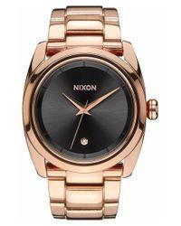 Nixon - Metallic 'queenpin' Extra Large Bracelet Watch - Lyst