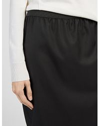 JOSEPH | Black Super 100 Marty Skirt | Lyst