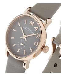 Marc By Marc Jacobs - Gray Baker Watch - Lyst