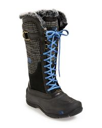 The North Face | Black 'shellista Luxe' Waterproof Boot | Lyst