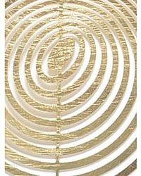 Zenzii - Metallic Bullseye Earring - Lyst