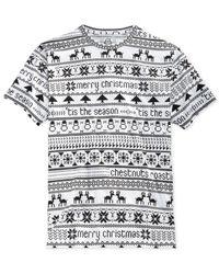 American Rag | White Men's Chestnuts Roasting T-shirt for Men | Lyst