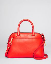 MILLY | Red Satchel Blake Small | Lyst
