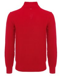 Napapijri Red Hanson Jumper for men