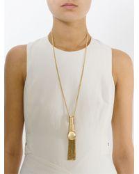 Chloé | Metallic 'delfine' Necklace | Lyst