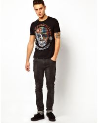 Elvis Jesus | Black Tshirt Voodoo for Men | Lyst