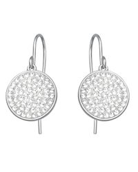 Swarovski - Metallic Crystal Drop Earrings - Lyst