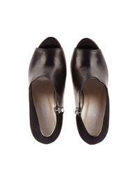 Karen Millen Natural Asymmetric Shoe Boot