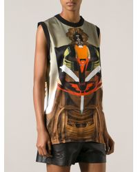 Givenchy Multicolor Printed Top