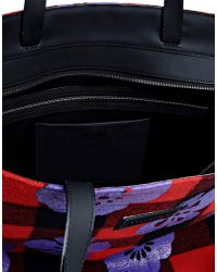 Moschino | Purple Large Fabric Bag for Men | Lyst