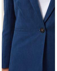 Hobbs Blue Daniella Jacket