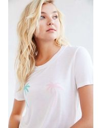 Truly Madly Deeply White Fun Destination Hawaii Tee