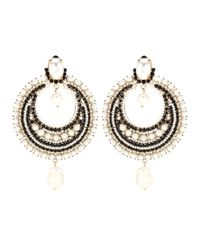Givenchy | Metallic Pearl-embellished Clip-on Earrings | Lyst