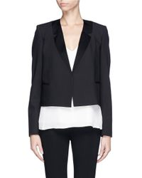 Theory Black 'nabiel C' Modern Suit Blazer