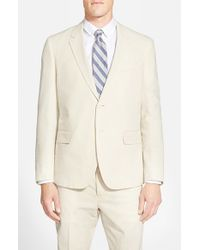 Haspel - Natural Trim Fit Seersucker Cotton Sport Coat for Men - Lyst