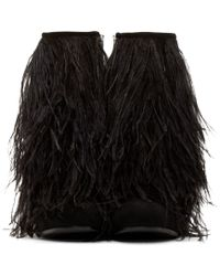 McQ Black Feather Geffrye Ankle Boots