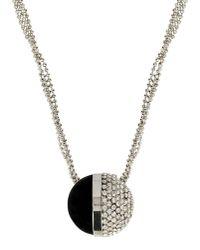 Giorgio Armani - Metallic Necklace - Lyst