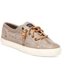 Sperry Top-Sider | Metallic Women's Seacoast Sneakers | Lyst