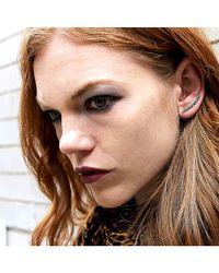 Adornia | Gray Champagne Diamond Crosby Ear Pin | Lyst