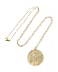 Brooke Gregson | Metallic Sagittarius 14-karat Gold Diamond Necklace | Lyst