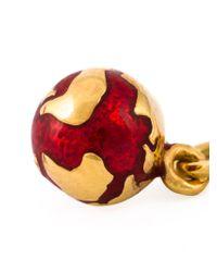 True Rocks | Metallic Mini Globe Necklace | Lyst