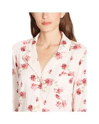 Ralph Lauren - Multicolor Floral Jersey Sleep Shirt - Lyst