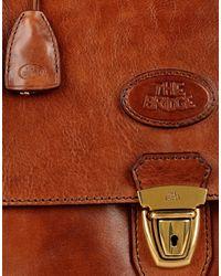 The Bridge - Brown Briefcase for Men - Lyst