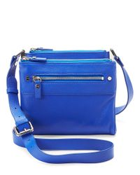 Kenneth Cole | Blue Morning Side Crossbody | Lyst