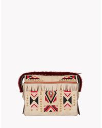 DSquared² | Natural Twin Peaks Clutch | Lyst