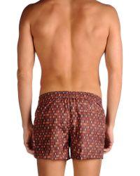 Danward - Brown Swimming Trunks for Men - Lyst
