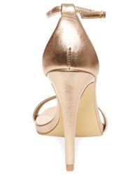Steve Madden - Metallic Women'S Stecy Two-Piece Sandals - Lyst