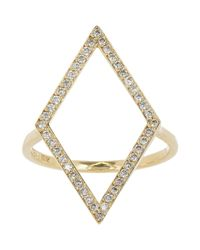 Jennifer Meyer | Metallic Kite Ring | Lyst