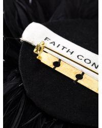 Faith Connexion | Black Pom Pom Brooch | Lyst