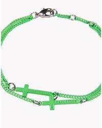 DSquared² - Green Jesus Armlet for Men - Lyst