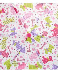 Harrods | Multicolor Polka Dot Westie Umbrella | Lyst