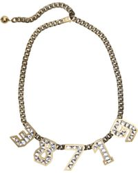 Lanvin | Metallic Macao Necklace | Lyst