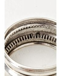 Forever 21 - Metallic Tiered Bangle - Lyst