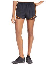 Nike Black Dri-fit Tempo Running Shorts