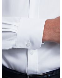 Thomas Pink White Taio Plain Shirt for men